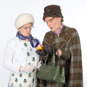 Theater ik´s zwei Schnattertanten Walk-Act